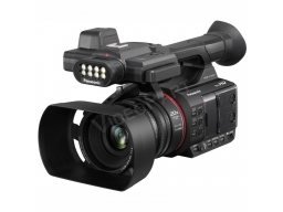Panasonic AG-AC30 Full HD videokamera - 2x XLR, 3 optikagyűrű, 20x zoom, beépített LED lámpa