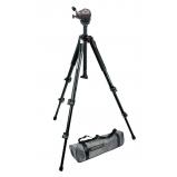 DEMO kamera- és fényképezőgép állvány - alumínium, fekete, hordtáskával