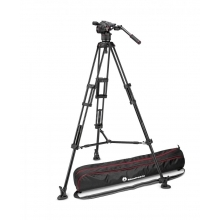 Nitrotech N8 video fej kit + 546B Twin középterpeszes tripod