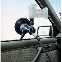 kamera- vagy fényképezőgép tartó tapadókoronggal és támasztékkal