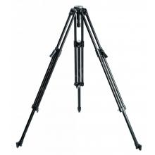 ProVideo Twin Leg kameraállványláb, 75mm félgömb, fekete, alumínium, 20 kg terhelésig