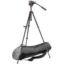 MDeVe kameraállvány szett hordtáskával 5 kg terhelésig, gyorsszintezővel, kihúzható középoszloppal