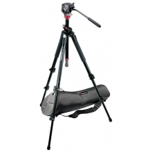 MDeVe kameraállvány szett hordtáskával 4 kg terhelésig, gyorsszintezővel, kihúzható középoszloppal