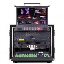 8 bemenetes HD mobil video stúdió hordládában