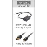 kiegészítő szett SWIT CM-55C monitorhoz Sony fényképezőgép használata esetén