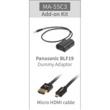 kiegészítő szett SWIT CM-55C monitorhoz Panasonic fényképezőgép használata esetén