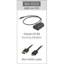 kiegészítő szett SWIT CM-55C monitorhoz Canon fényképezőgép használata esetén