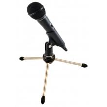 dinamikus kardioid mikrofon 3,5mm Jack csatlakozóval, kengyellel, pókállvánnyal - 500 ohm