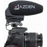AZDEN SMX-30, kameramikrofon / DSLR mikrofon miniJack csatlakozással - választható sztereo vagy mono mód