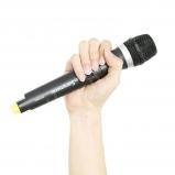 kézi mikrofon beépített adóval SR-WM4C VHF vezetéknélküli rendszerhez