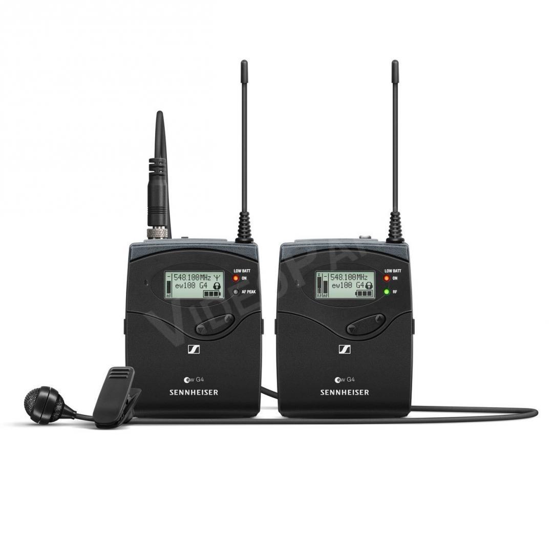 SENNHEISER SEN-EW122P-G4 Kamerás csíptetős mikrofonos szett ME 4 ... 7b3713783f