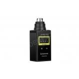 - Plug-on adó XLR csatlakozással SR-WM4C VHF vezetéknélküli rendszerhez +48V fantomtáppal