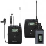 vezetéknélküli ENG mikrofon szett - 100 méter, 8 óra üzemidő 2x AA elemmel, klipsz mirofon, Plug-on adó