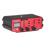 DSLR terep hangkeverő, 2xXLR, fantomtáp, leválasztó trafó