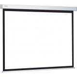 180 x 180 cm rolós matt fehér vetítővászon fali vagy mennyezeti rögzítéssel