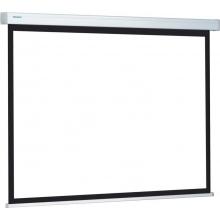 200 x 200 cm rolós matt fehér vetítővászon fali vagy mennyezeti rögzítéssel