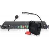 Datavideo intercom rendszer 4 alegységgel + központ - 8 alegységig bővíthető