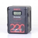 220Wh,15.3Ah Gold-mount akkumulátor, 2x D-tap, 1x USB, LCD kijelző