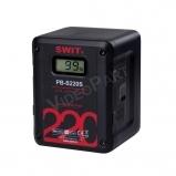 220Wh, 15,3Ah V-lock akkumulátor, SONY & RED power info, 4x D-tap, 1x USB, LCD kijelző