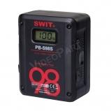 SWIT PB-S98S, 98Wh,6.8Ah V-lock akkumulátor, SONY & RED power info, 2x D-tap, 1x USB, LCD kijelző