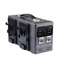 4 db V-lock akkumulátor együttes gyorstöltése vagy 2 db kameratápegység