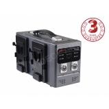 SWIT PC-P430S, 4 db V-lock akkumulátor együttes gyorstöltése vagy 2 db kameratápegység