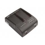 SWIT S-3602I, 2 akkuhelyes JVC SSL töltő és tápegység