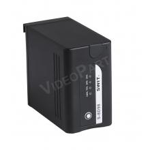 Panasonic típusú kamera akkumulátor - 9800mAh, 70Wh, USB, PoleTap