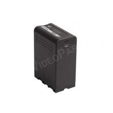 Sony BP-U típusú akkumulátor, 14,4V, 98Wh, D-tap, USB