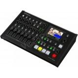 kép- és hangkeverő, streamer, HDMI, VGA, komponens, kompozit, érintőképernyő, 4 video-, 18 hangcsatorna