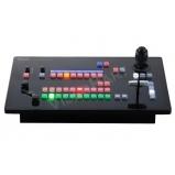élő közvetítéshez produkciós központ - kép- és hangkeverő, kamera vezérlő, SDI és IP kimenettel