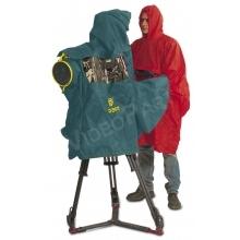 esővédő állványra helyezett teljes formátumú kamerához külső helyszíni közvetítéshez