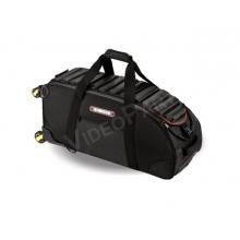 görgős kamera táska, vízálló 1680D gyöngyvászon, 63x28x28cm