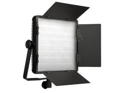 3200-5600 LED panel, CRI: 95, 4730lx, 3 szűrő, 4 terelőlemez, V-lock, 600 LED