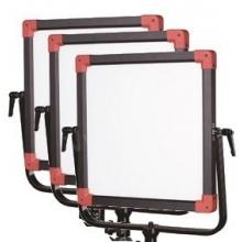 3 db LED panel lámpaszett - 4500Lux - állvány, hordtáska, tápegység