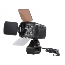 LED kamera lámpa szett 1100 lux fényerővel + Panasonic akkumulátor konzol