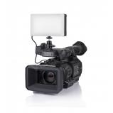 SMD LED kameralámpa, 3200K-5600K, 640 lux, 10-100% fényerő