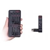 mini 8 csatornás vezetéknélküli DMX fényvezérlő