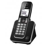 Panasonic KX-TGD310PDB DECT telefon, fekete