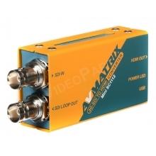 AVMATRIX MINI SC1112 3G-SDI TO HDMI BROADCAST KONVERTER TÁPEGYSÉGGEL