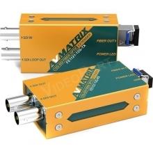 AVMatrix FE1121 12G-SDI száloptikai jeltovábbító szett