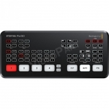 Blackmagic Design ATEM Mini Pro ISO HDMI Live Stream Switcher, 4 csatorna plusz PROGRAM (ISO) rögzítéssel