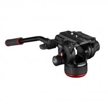 Manfrotto 504X fluid videóállvány-fej sík alaplappal 6,5 kg terhelésig