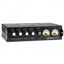 AZDEN FMX-42A, 4 bemenetes hordozható mikrofon / vonal hangkeverő 10-pines kamera visszacsatolással