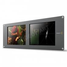 BlackMagic SmartScope Duo 4K rack monitor 2x 8