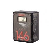 Swit PB-S146S V-lock digitális akkumulátor, 146Wh, 2x D-tap, 1x USB, LCD kijelzés