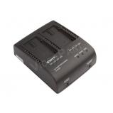 kettős Panasonic akkumulátortöltő és tápegység