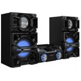 Hi-Fi rendszer, 2400 W - fekete