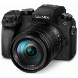 Lumix G - DSLM váz, 4K video-foto +14/140 mm-es objektívvel - fekete
