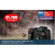 Lumix G - DSLM váz, 4K video-foto +14/42 mm-es objektívvel - fekete
